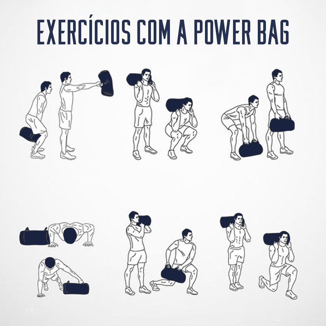 POWER BAG INICIATIVA FITNESS 10KG - UNIDADE  - Iniciativa Fitness
