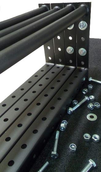 Gaiola Crossfit / Rack Funcional P006XT Iniciativa Fitness  - Iniciativa Fitness