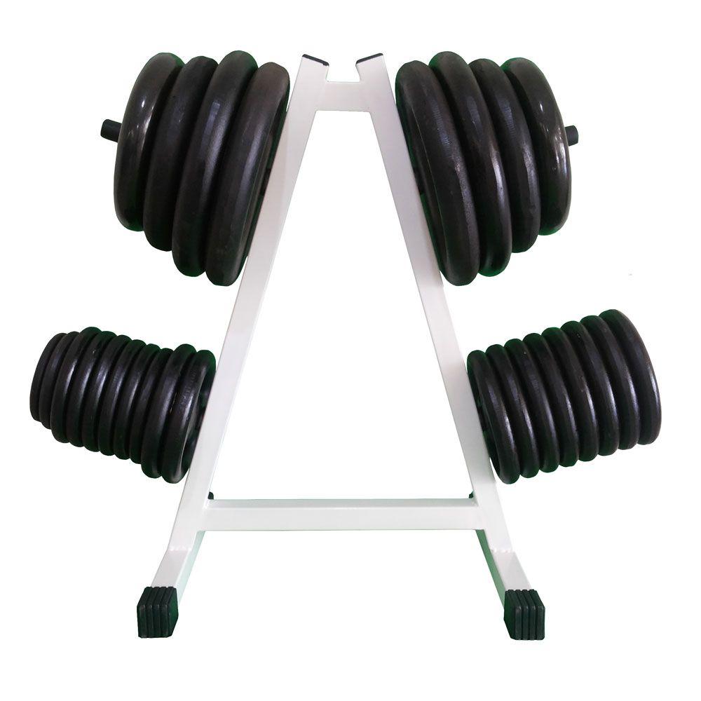 SUPORTE ANILHA 300  - Iniciativa Fitness