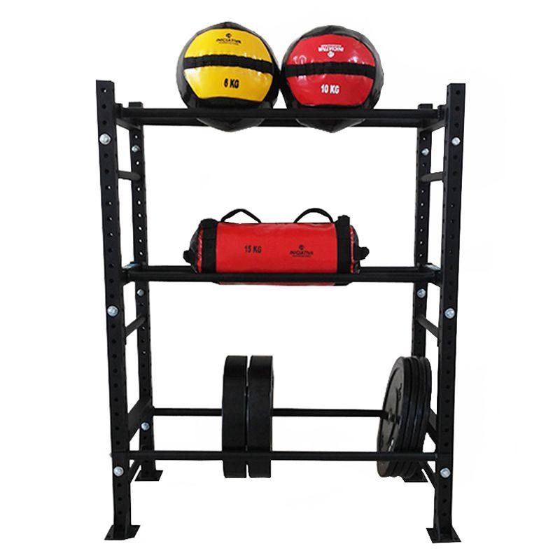 SUPORTE \ PRATELEIRA PARA WALL BALL CROSSFIT  - Iniciativa Fitness