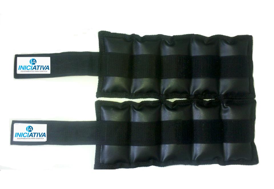 Tornozeleira 10 kg - Par  - Iniciativa Fitness