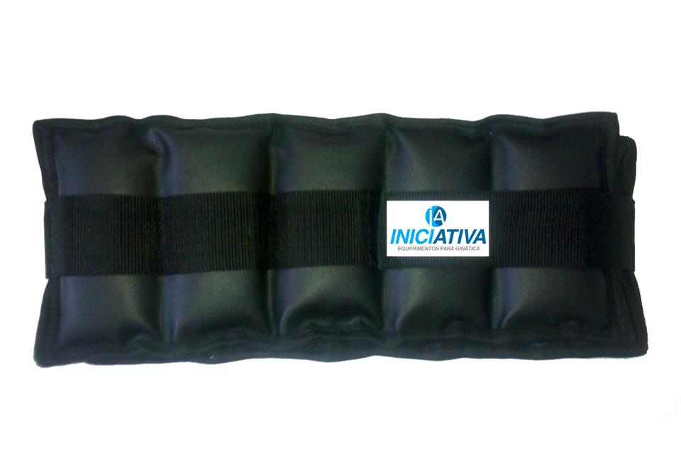 Tornozeleira 1 kg - Par  - Iniciativa Fitness
