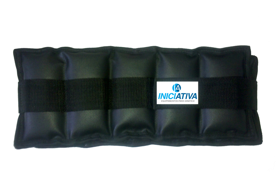 Tornozeleira 9 kg - Par  - Iniciativa Fitness