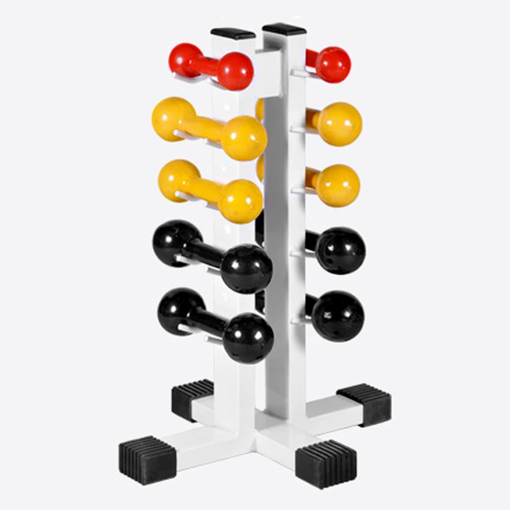 Suporte Torre p/ 10 Halteres   - Iniciativa Fitness