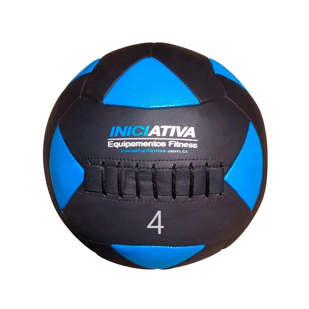 WALL BALL INICIATIVA FITNESS 8LB / 4KG - UNIDADE  - Iniciativa Fitness