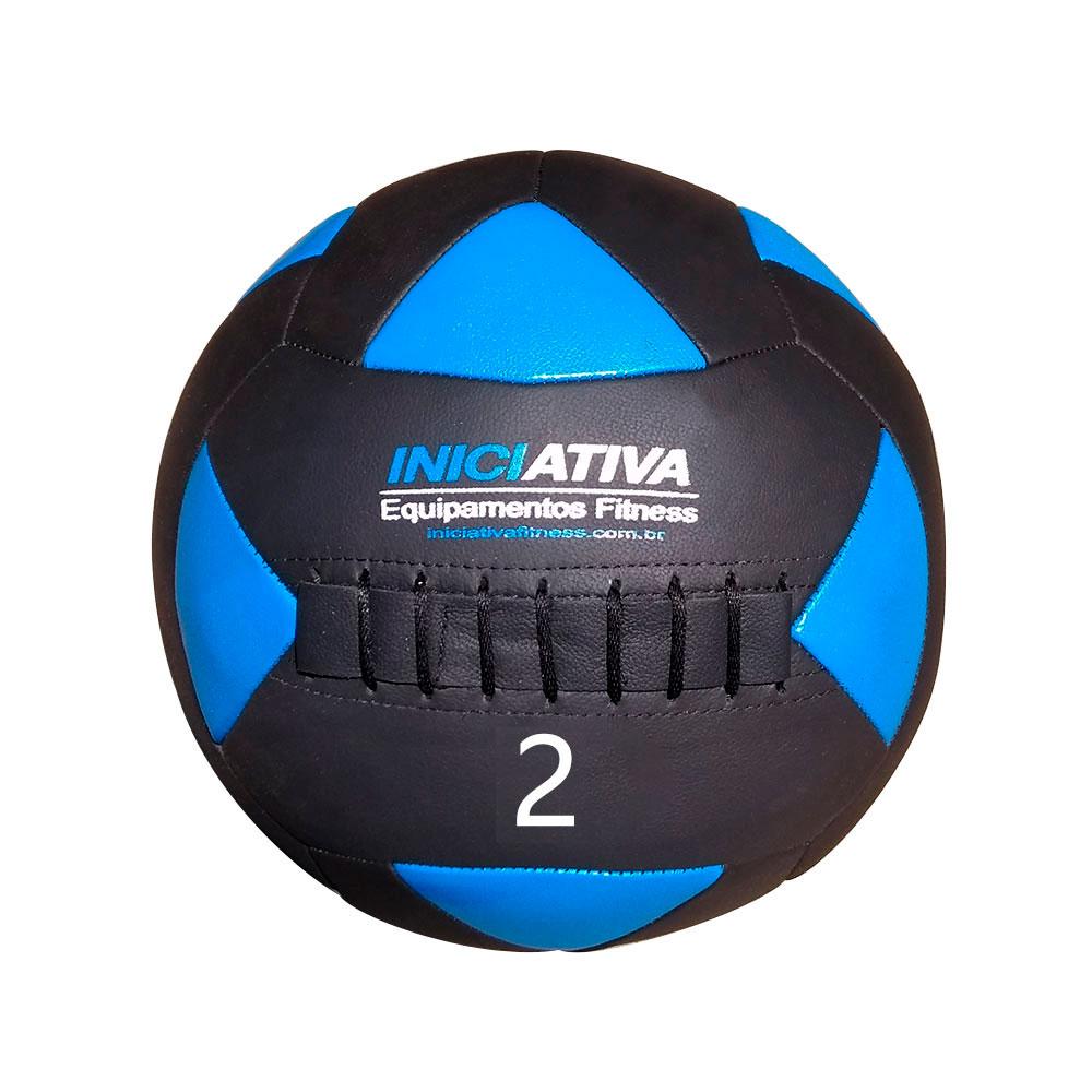 WALL BALL INICIATIVA FITNESS 4LB / 2KG - UNIDADE  - Iniciativa Fitness