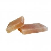 2 Pedras Sal Rosa Himalaya p/ Churrasco 7kg cada