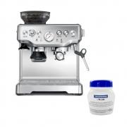 Cafeteira Tramontina Breville Express Pro 69066 Inox 110V com Detergente pó para Cafeteira