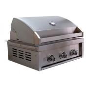 Churrasqueira a Gás 3 Queimadores GCPro 3200 Grill Chef Pro