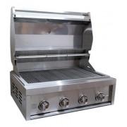 Churrasqueira a Gás 4 Queimadores Grill Chef Pro GCPro 4000