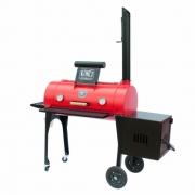 "Defumador New Smoker 16"" Cor Vermelha Kings Barbecue"