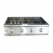 Grelhador Embutir Premium HG-4B Inox 4 bocas Home&Grill