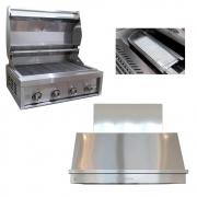 Kit Área Gourmet Churrasqueira a Gás Grill Chef Pro K6