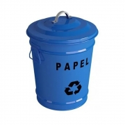 Lixeiras Para Reciclagem Estilo Vintage Debacco 18L