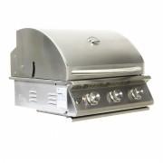 Churrasqueira a Gas Home e Grill Style Premium HG-3B - 3 Queimadores - 100% Inox 304