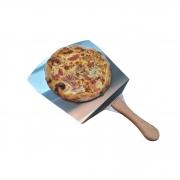 Pá e Cortadora de pizza Dupla função Inox Premium
