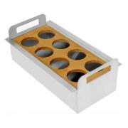 Porta Condimentos Debacco Inox 30cm - 20.04.00145