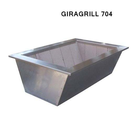 Caixa Braseiro Para Kit ElevGrill 704 - GiraGrill