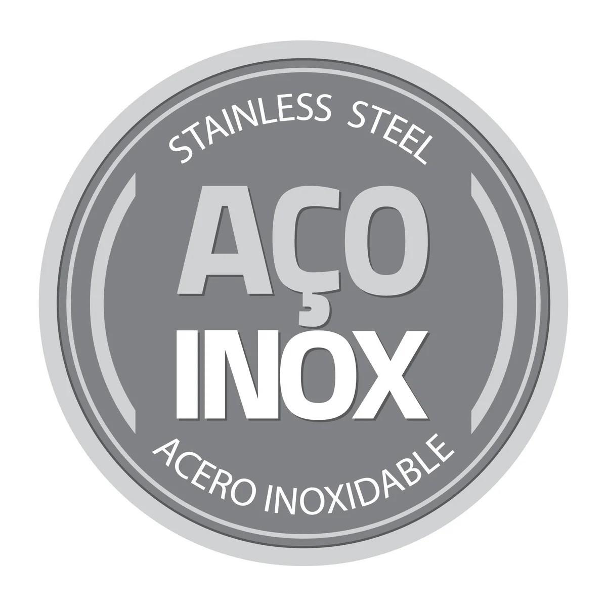 Caçarola Rasa Inox Professional 24 Cm Trix Cobre Tramontina  - Sua Casa Gourmet e Cia