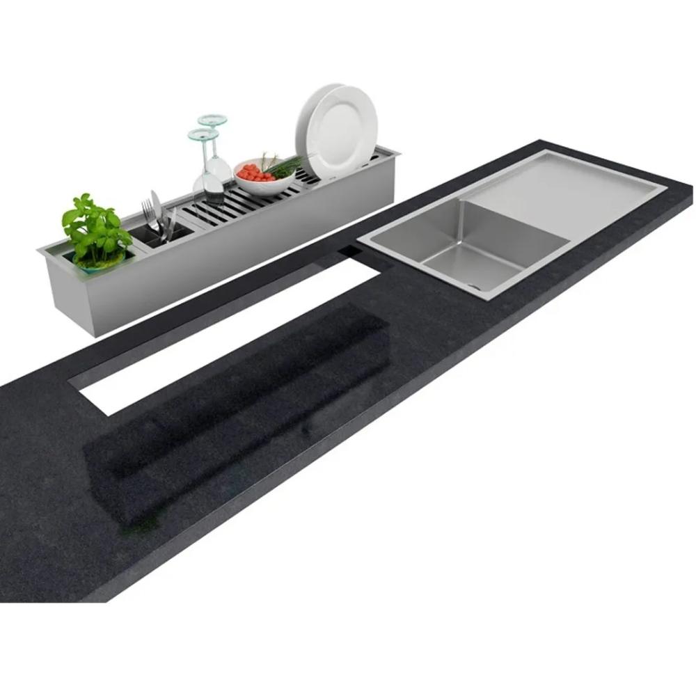 Canal Organizador Úmido 1050 Inox Debacco  - Sua Casa Gourmet e Cia