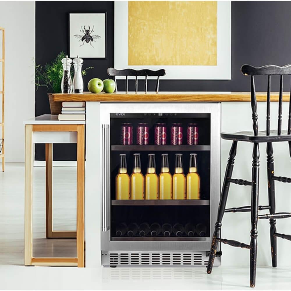 Cervejeira Frost Free Evol JC-145C 110V  - Sua Casa Gourmet e Cia