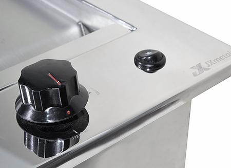 Chapa de Lanche à Gás Gourmet em Inox de Embutir 40X50 - JX Metais