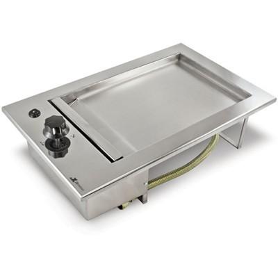 Chapa de Lanche Elétrica Gourmet Em Inox de Embutir JX Metais - 32x51