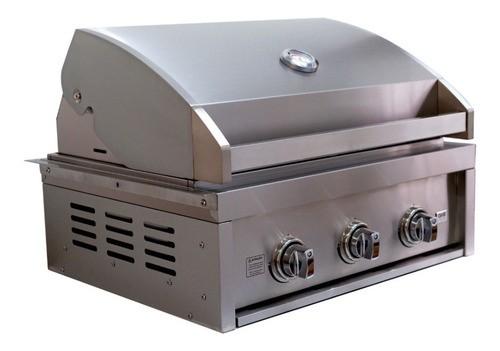 Churrasqueira A Gás 3 Queimadores Grill Chef Pro GCPro 3200