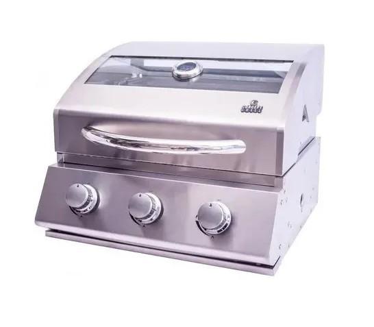 Churrasqueira A Gás Concept Grill 3 queimadores