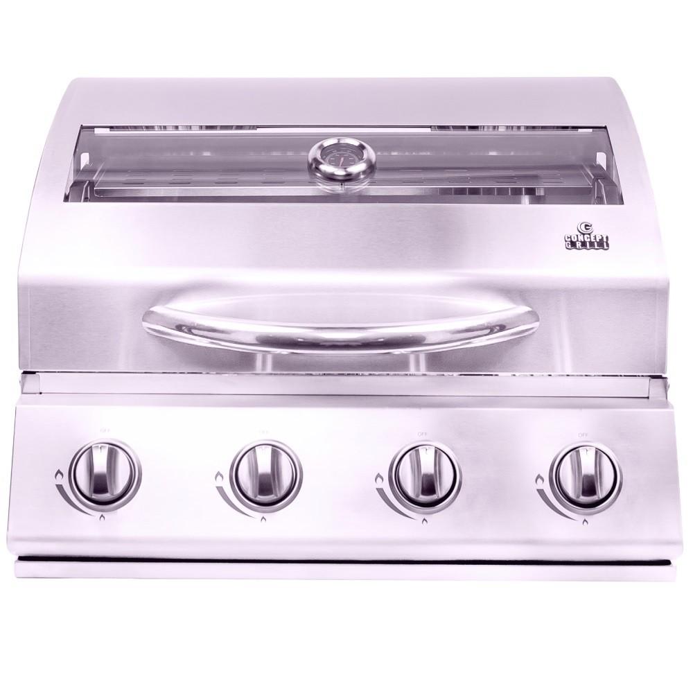 Churrasqueira A Gás Concept Grill 4 queimadores