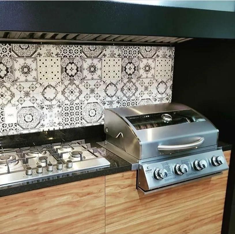 Churrasqueira A Gás Concept Grill 4 queimadores  - Sua Casa Gourmet e Cia