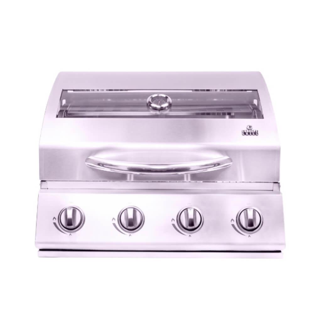 Churrasqueira A Gás Concept Grill 4 queimadores COM PEQUENAS AVARIAS  - Sua Casa Gourmet e Cia