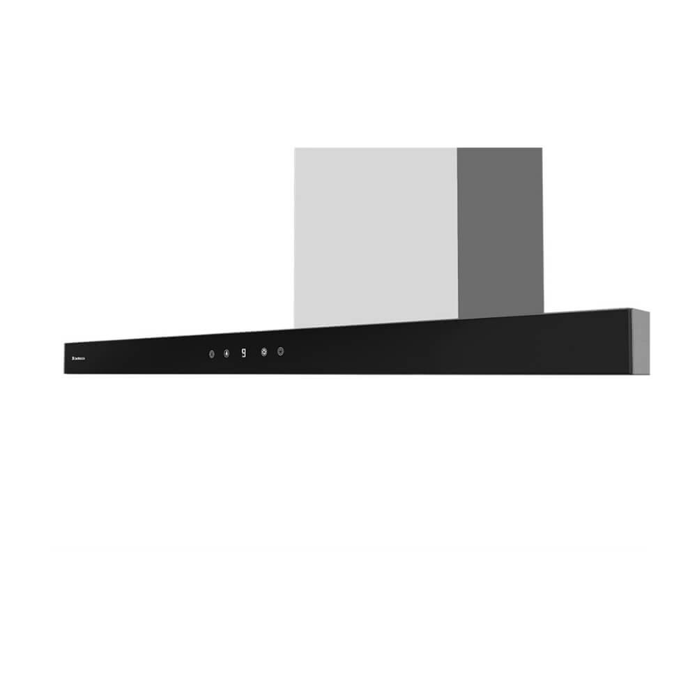 Coifa de Parede Londres 90cm Preta Debacco  - Sua Casa Gourmet e Cia