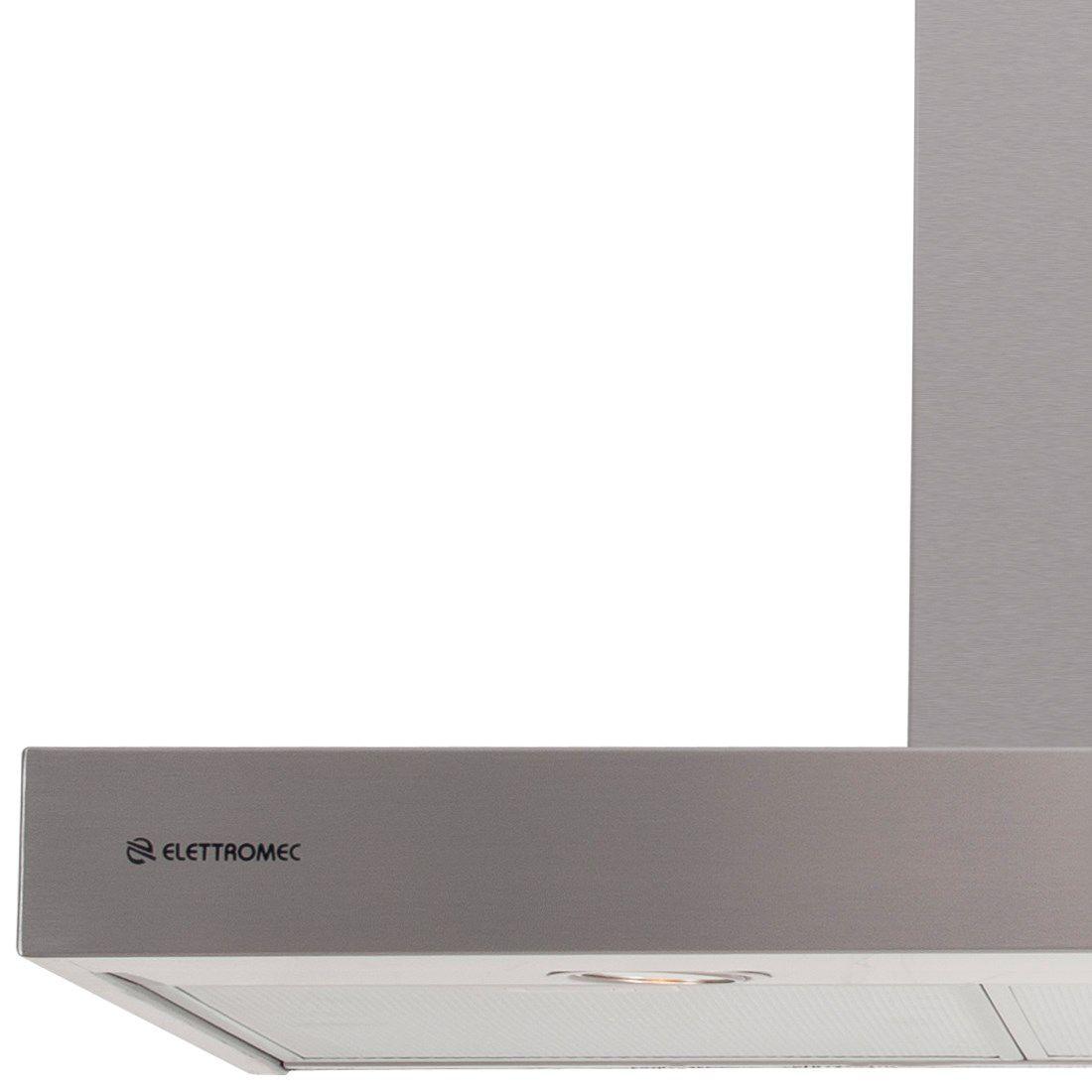 Coifa Elettromec Milano Parede Inox 120cm 220V