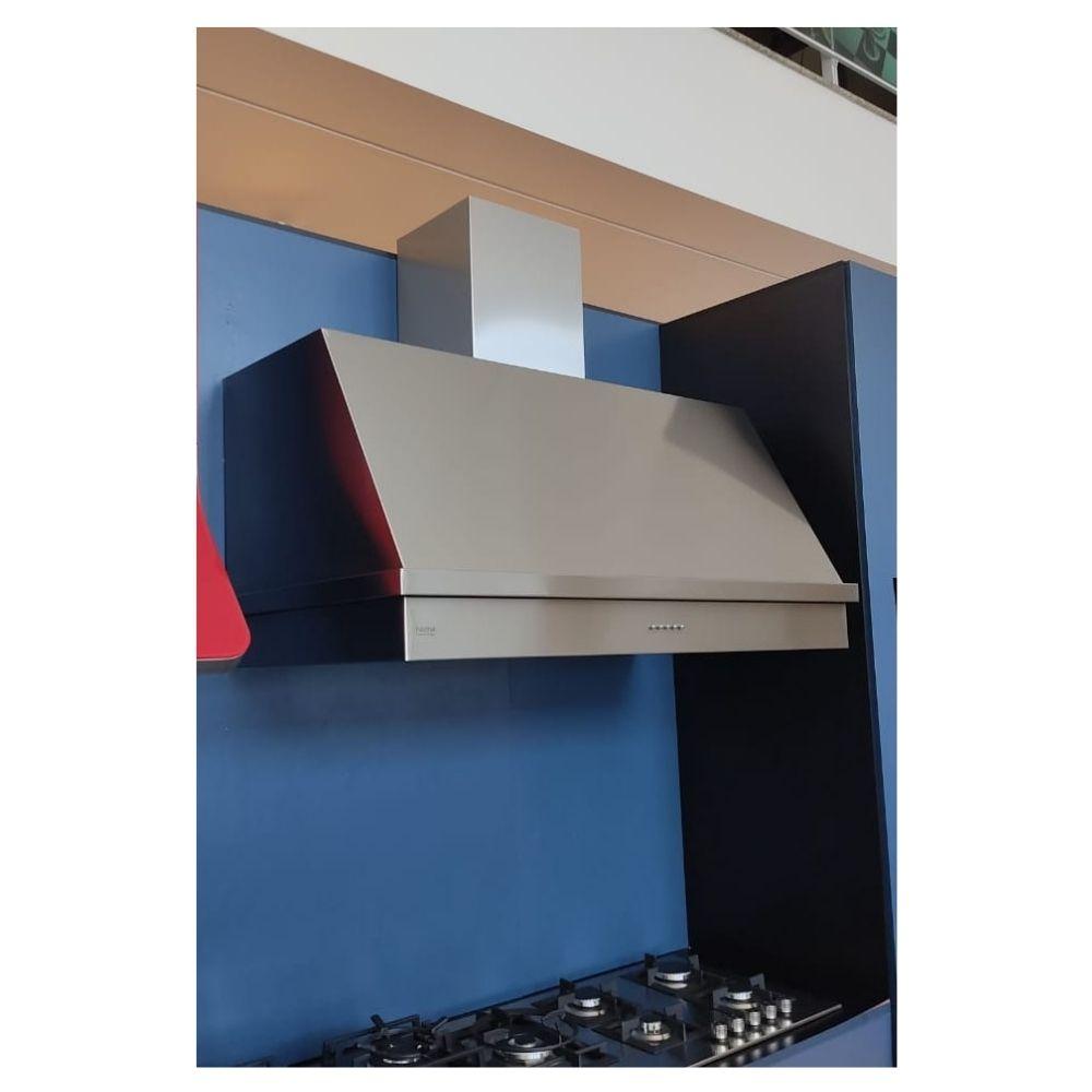 Coifa Inox 430 Roma 1,60m - 1600 X 650mm  - Sua Casa Gourmet e Cia