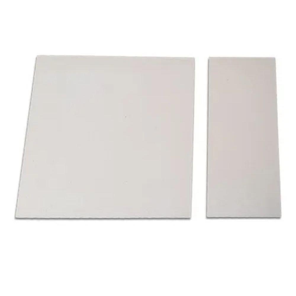 Conjunto de 2 Pedras Refratária Cerâmica Para Pizza 40x40 e 15x35cm