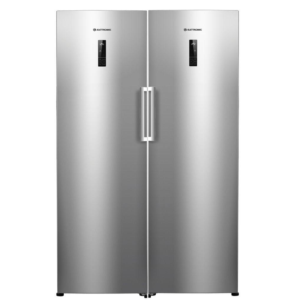 Conjunto DUO Elettromec Refrigerador e Freezer