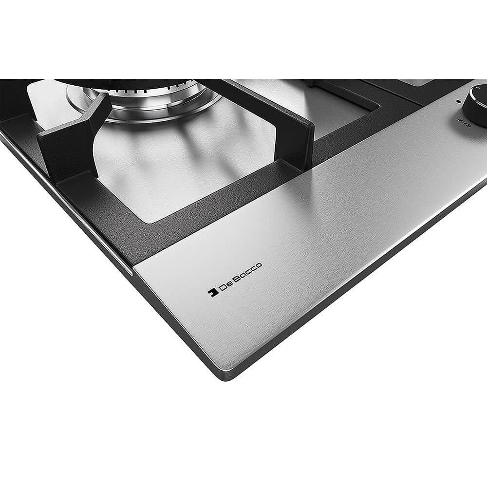 Cooktop Debacco Zuriquel 90cm Inox 5 Queimadores  - Sua Casa Gourmet e Cia