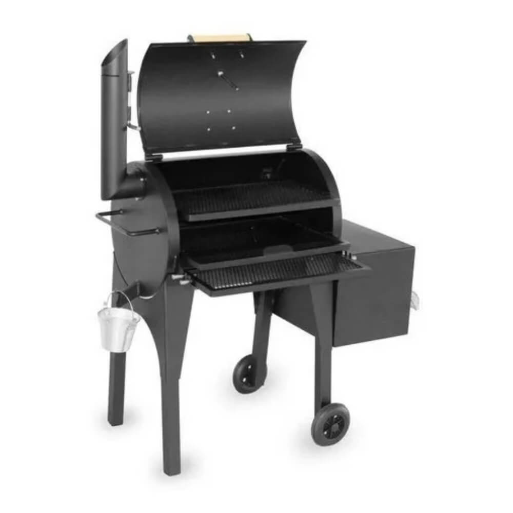 Defumador Smoker Lolita Cor Preta Kings Barbecue