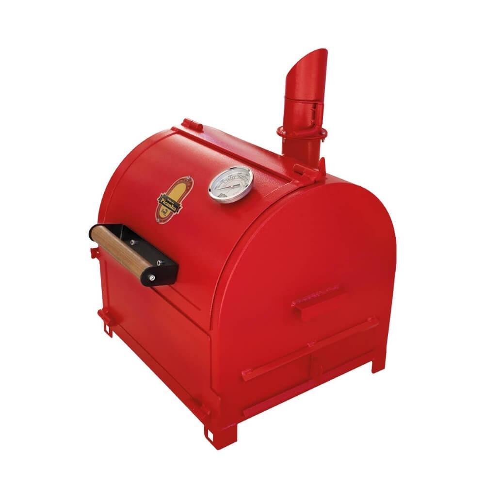 Defumador Smoker Sugar Vermelho - Kings Barbecue