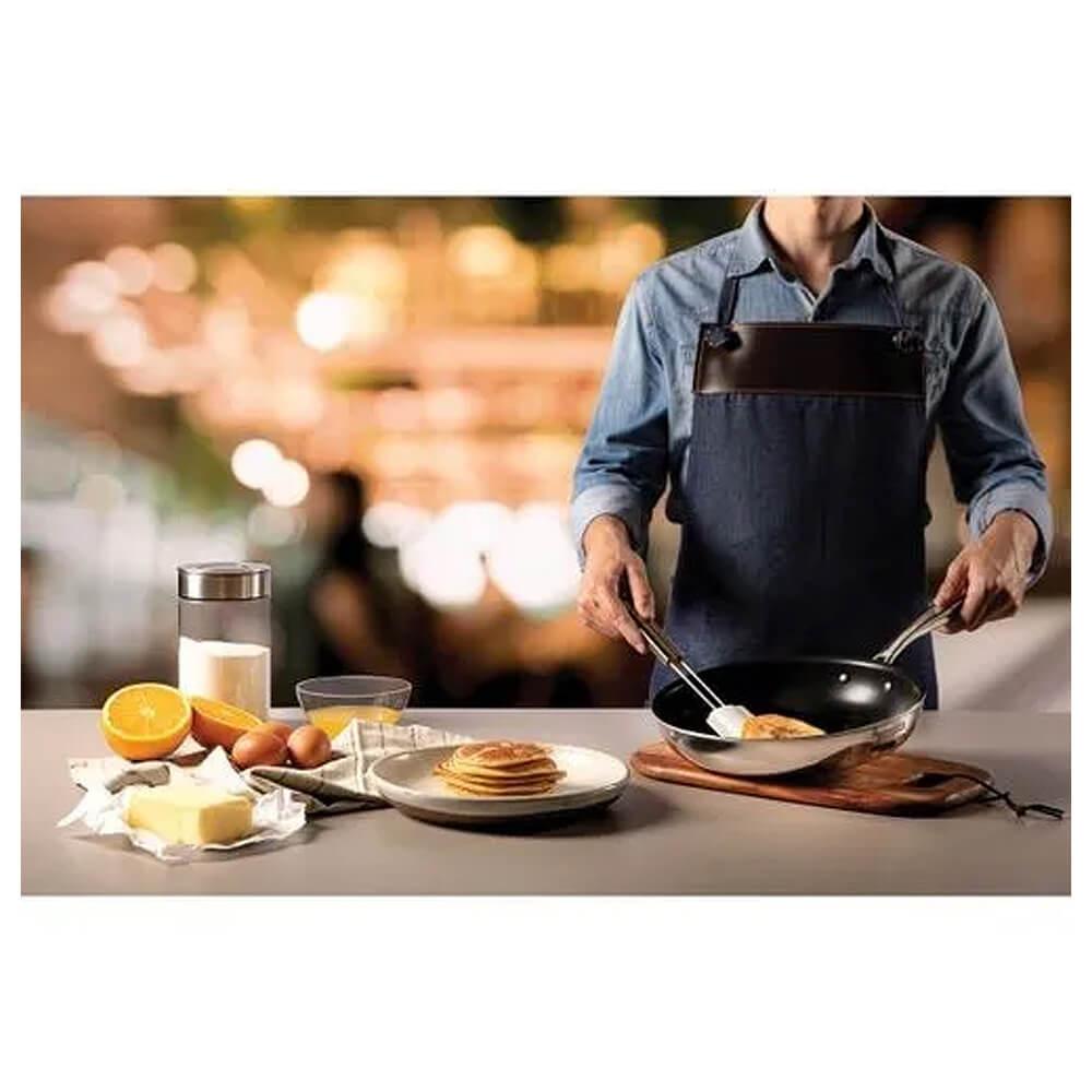 Frigideira Aço Inox Antiaderente Grano 30cm 3,4L Tramontina  - Sua Casa Gourmet e Cia