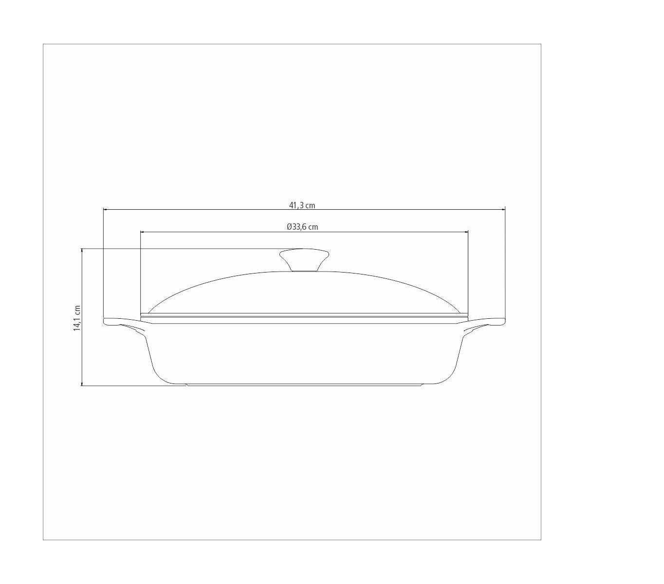 Frigideira Lyon Alumínio Revestimento Starflon com Tampa 32cm Vermelha  - Sua Casa Gourmet e Cia