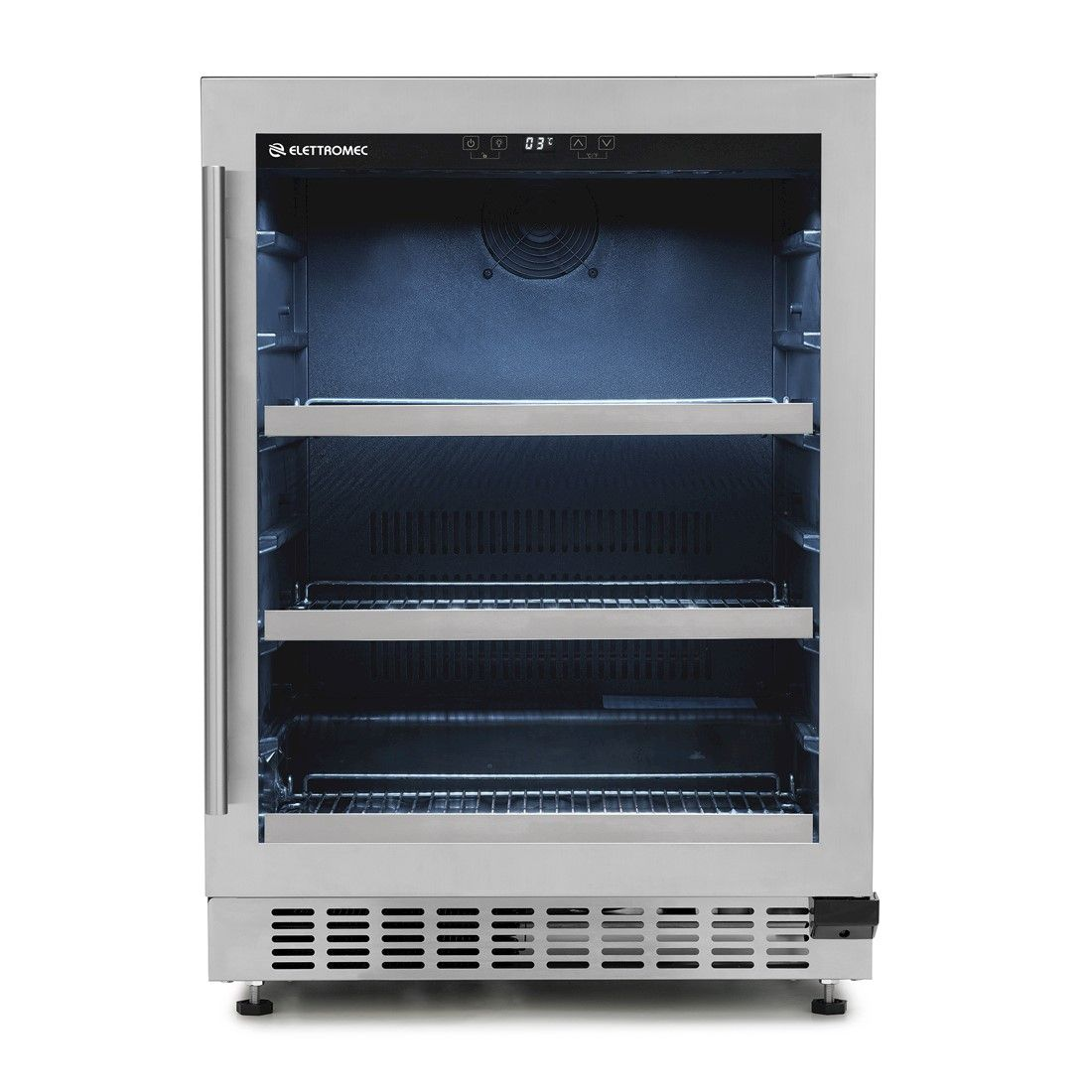 Frigobar Elettromec de Embutir 135 Litros Inox