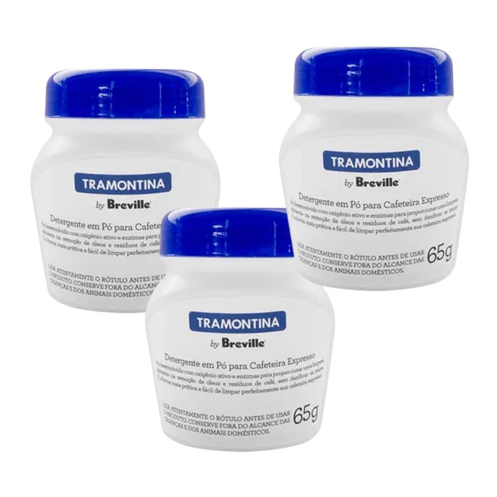 Kit 3 Potes Detergente Tramontina By Breville p/ Cafeteira  - Sua Casa Gourmet e Cia