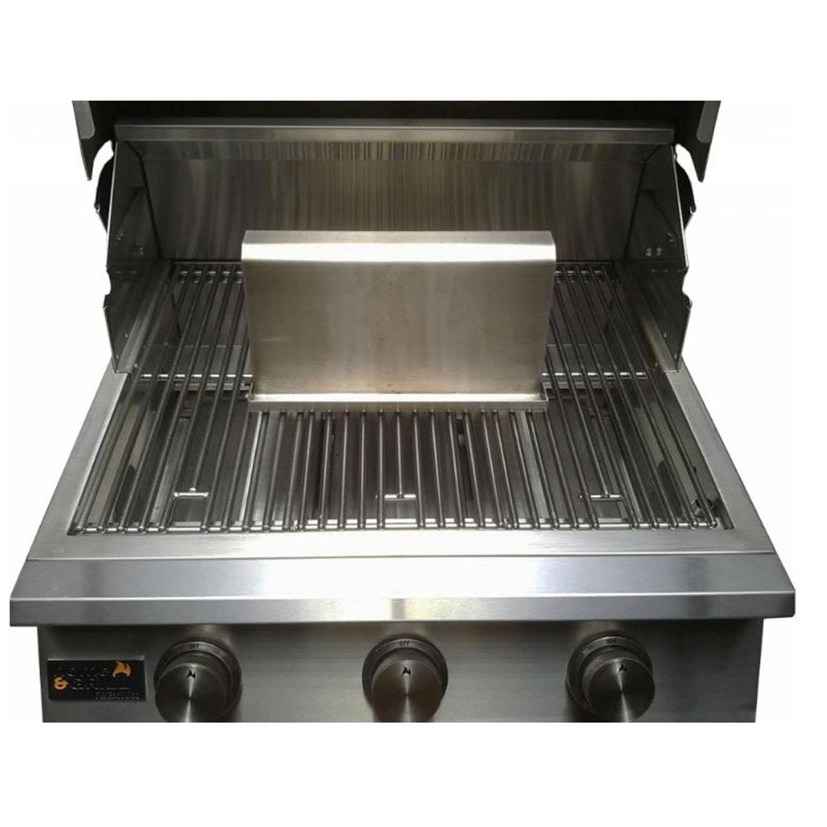 Kit Chapa Bacon Grilling Crispy Inox 304 + Escova Tramontina  - Sua Casa Gourmet e Cia