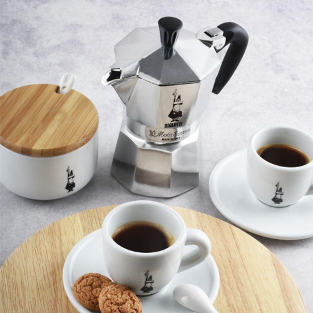 Cafeteira 3 xícaras com Tuttocrema Espumador Bialetti  - Sua Casa Gourmet e Cia