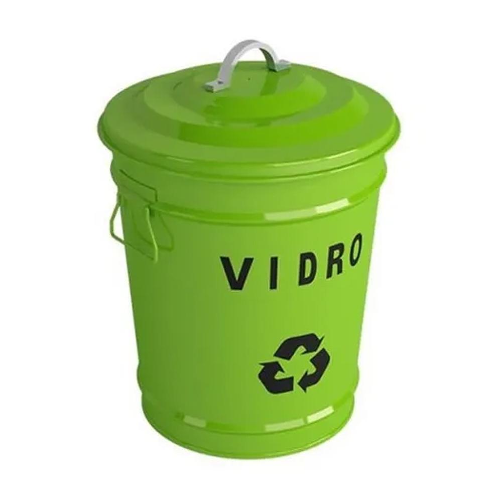 Lixeiras Para Reciclagem Estilo Vintage Debacco 18L  - Sua Casa Gourmet e Cia