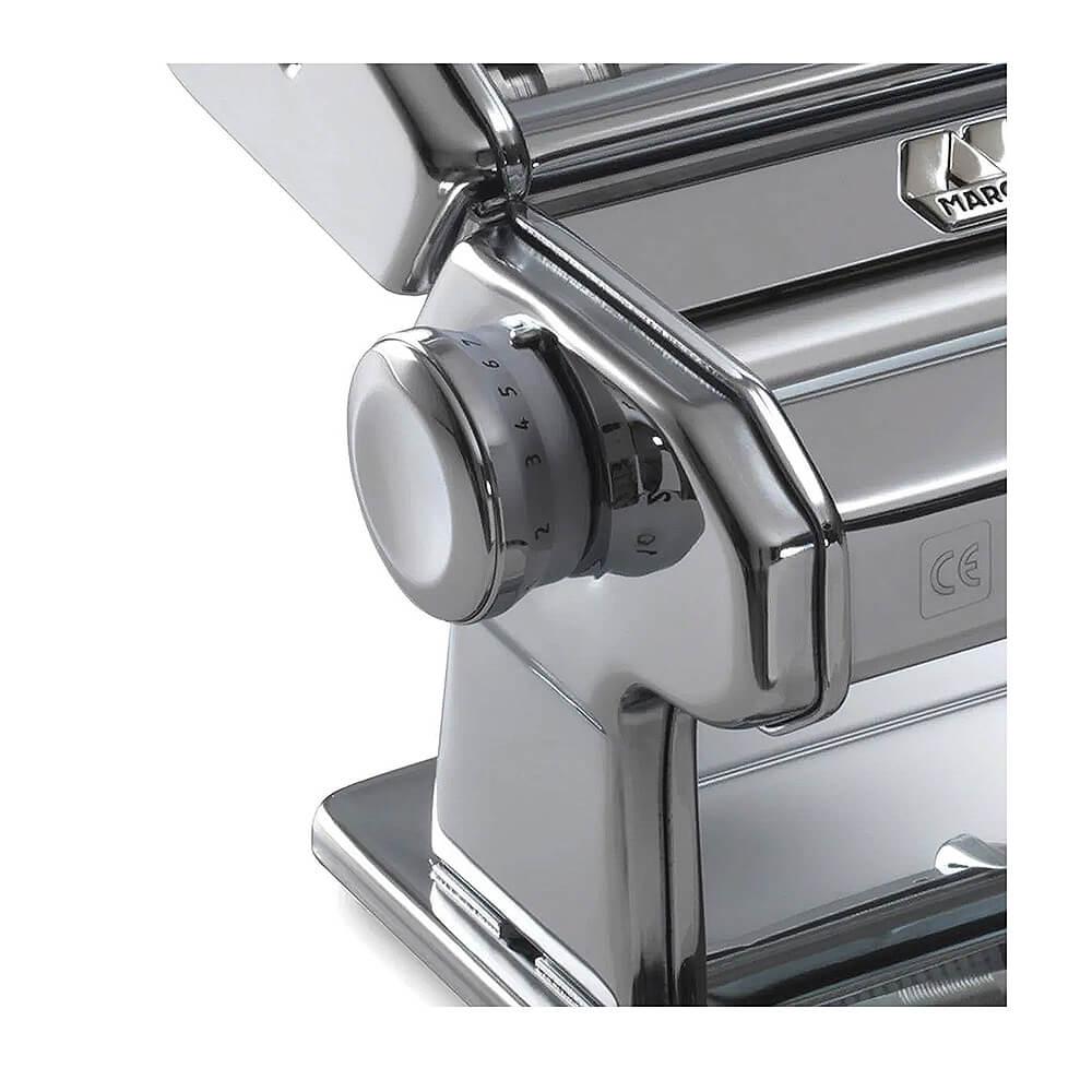 Máquina Para Macarrão e Massas Frescas Caseiras Atlas 150 Marcato  - Sua Casa Gourmet e Cia