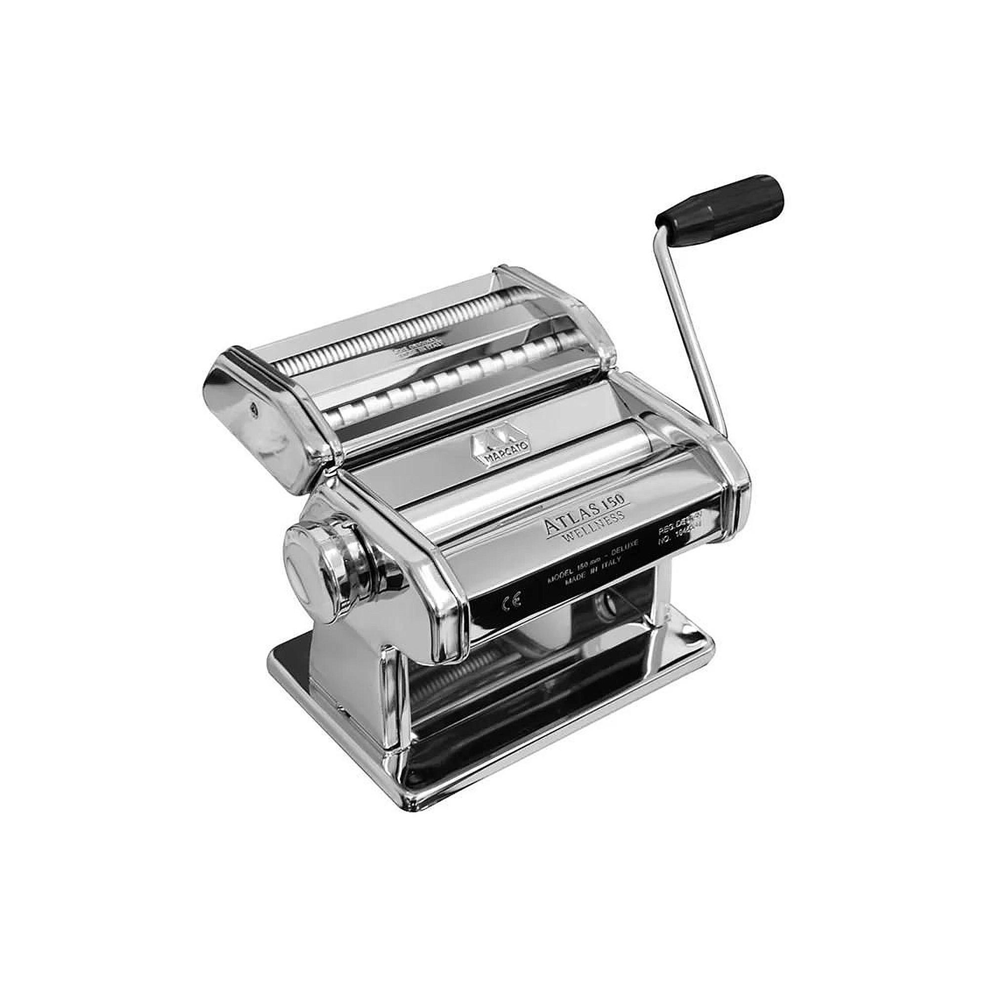 Máquina Para Massas Frescas Caseira Atlas 150 - Marcato  - Sua Casa Gourmet e Cia