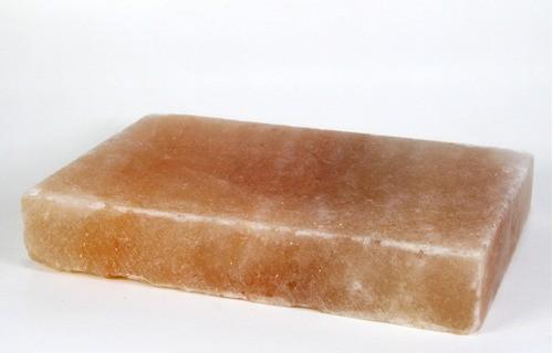 Pedra De Sal Rosa Himalaia p/ Churrasco Natural 7kg  - Sua Casa Gourmet e Cia